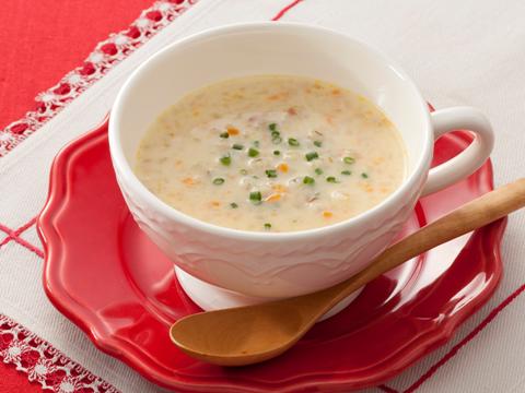 ビュンドナーゲルシュテンズッペ(大麦のスープ)