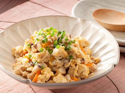 冷凍で簡単!お手軽炒り豆腐