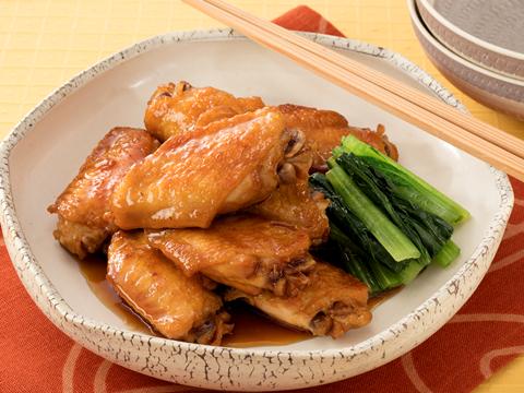 鶏手羽先の梅煮