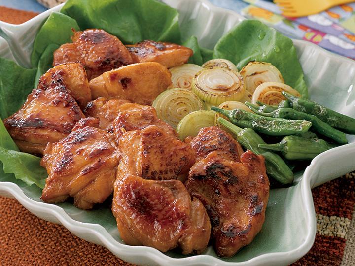 鶏肉のプルコギ(韓国風焼肉)