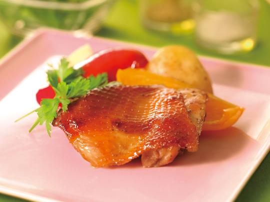 鶏もも肉のロースト マーマレード風味
