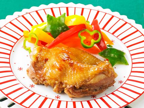 バルサミコ風味の照り焼きチキン